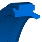 Cross section sketch Damper Seal DIP